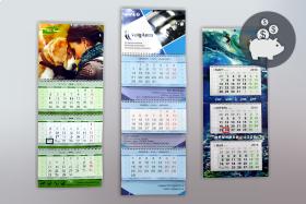 Печать календарей с логотипом в типографии