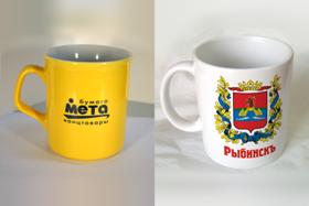 Кружки с логотипом в Москве