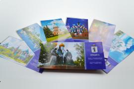 Печать открыток и приглашений в типографии