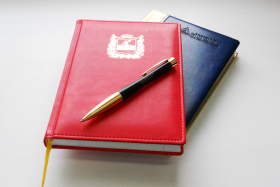 Ежедневники с логотипом на заказ
